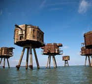 Things to do Whitstable Sea Forts